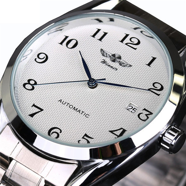 Luxury Brand Automatic Mechanical Business Wrist Watch-Felligo