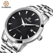 STARKING Automatic Self-wind, Stainless Steel, 5atm Waterproof Business Watch for Men-Felligo