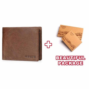 Kavis Genuine leather wallet-Felligo