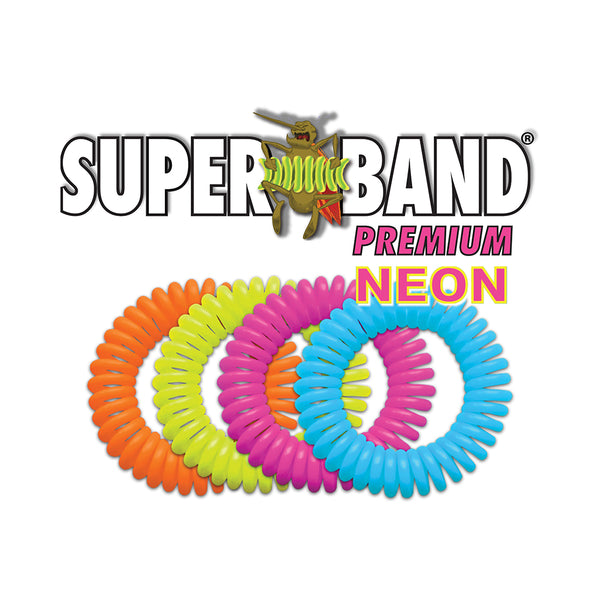 Neon Insect Repelling Superband Premium