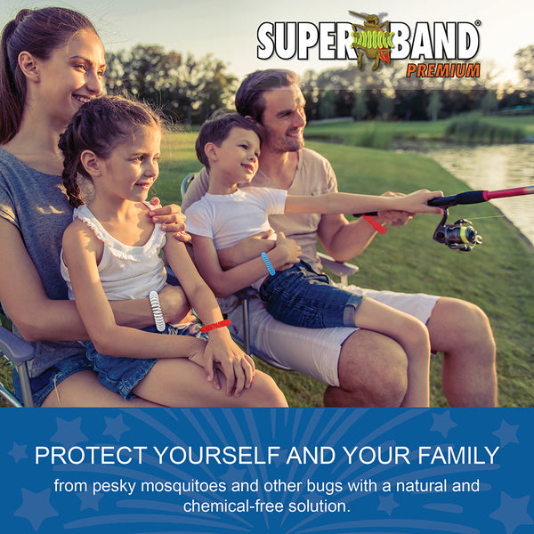 Patriotic Insect Repelling Superband Premium