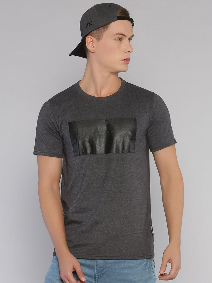 Faith Short Sleeve T-shirt Grey/Black - EURUS WEAR CLOTHING