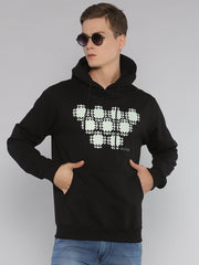 Diamond Hoodie Black - EURUS WEAR CLOTHING