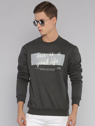 Good Life Sweatshirt Grey/White - EURUS WEAR CLOTHING