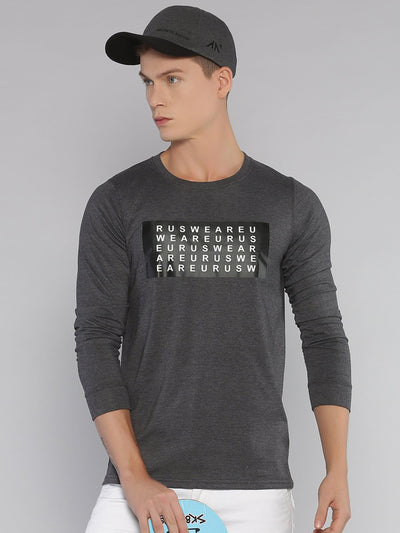 Alphabet Eurus Long Sleeve T-shirt Grey