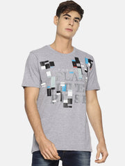 Play Life Pause T-shirt Heather Grey