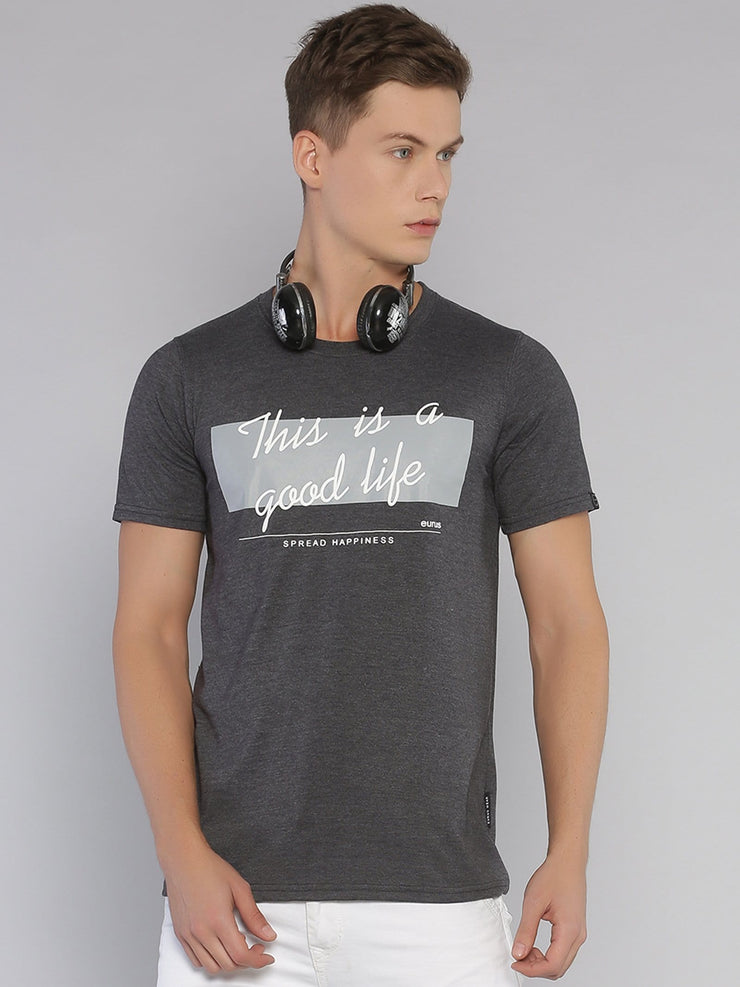 Good Life Short Sleeve Grey/White