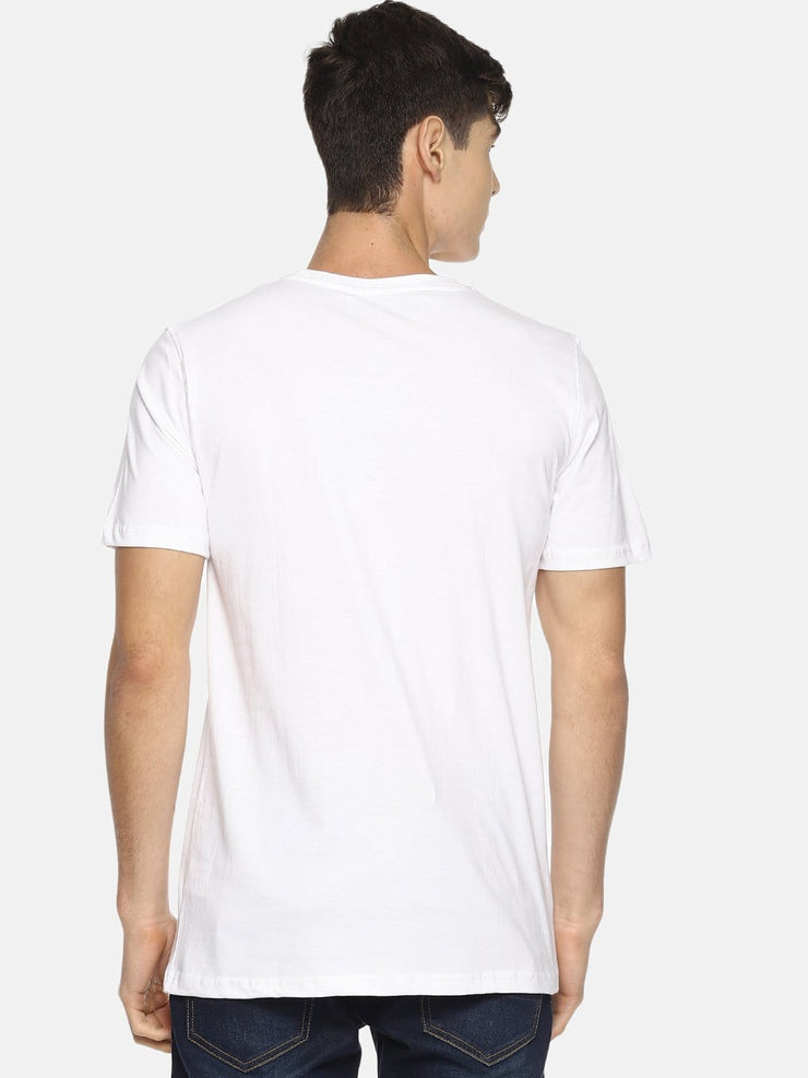 Plan It Built It Short Sleeve T-shirt White
