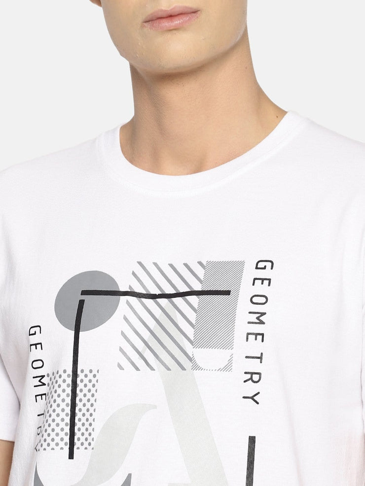 Geometry T-shirt White