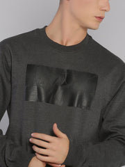 Faith Sweatshirt Grey/Black - EURUS WEAR CLOTHING