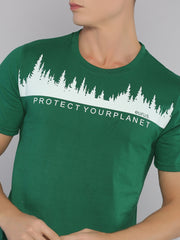 Protect Your Planet Short Sleeve T-shirt Green