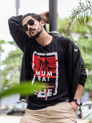 Mumbai Short Sleeve T-shirt Black/Red