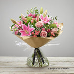 Large Pink Radiance Hand-tied