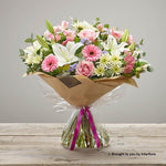 Large Happy Birthday Country Garden Hand-tied