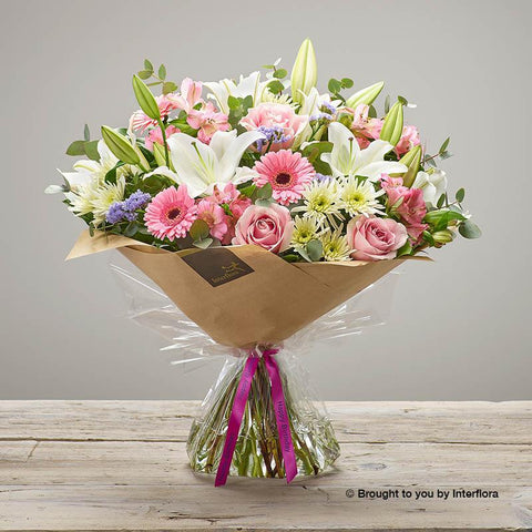 Extra Large Happy Birthday Country Garden Hand-tied