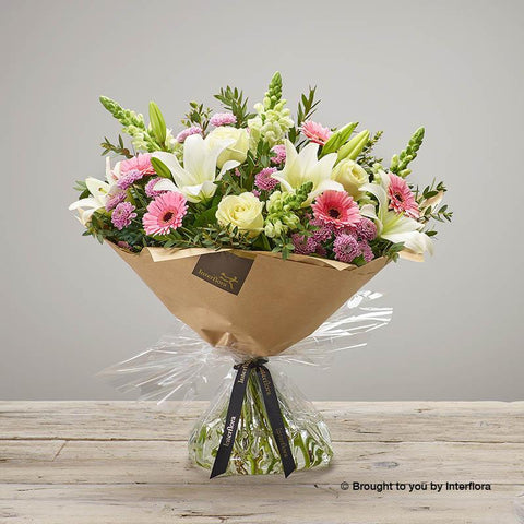 Extra Large Pure Pastels Hand-tied