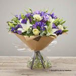 Extra Large Purple Comfort Hand-tied