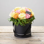 Sherbet Rose Hatbox Plus