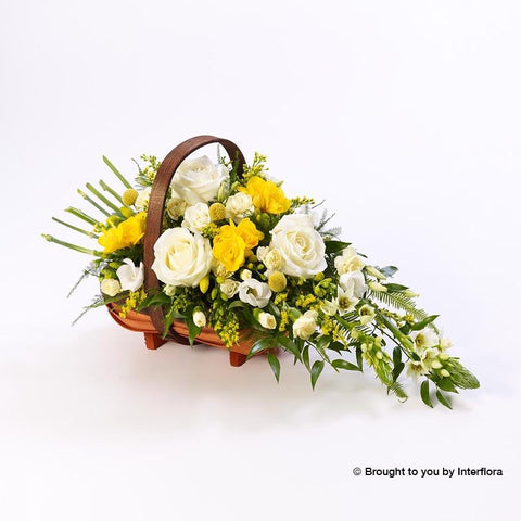 Extra Large Rose and Freesia Basket