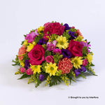 Large Classic Vibrant Posy