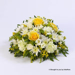 Extra Large Classic Yellow and White Posy