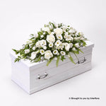 Children's Casket Spray - White