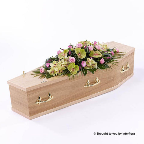 5ft Rose and Calla Lily Casket Spray