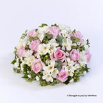Scented Posy - Pink and White