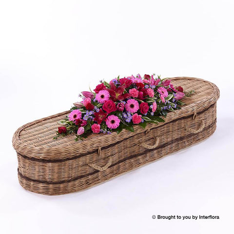 5ft Rose & Gerbera Casket Spray