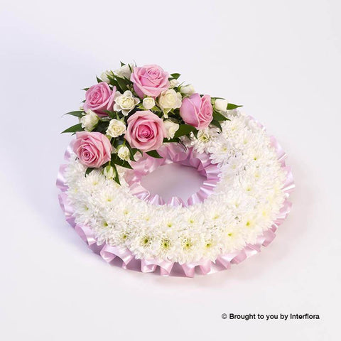 Extra Large Classic Pink Wreath