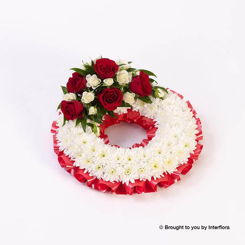 Large Classic Red Wreath