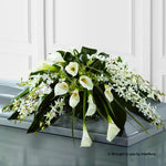 Calla Lily and Orchid Arrangement