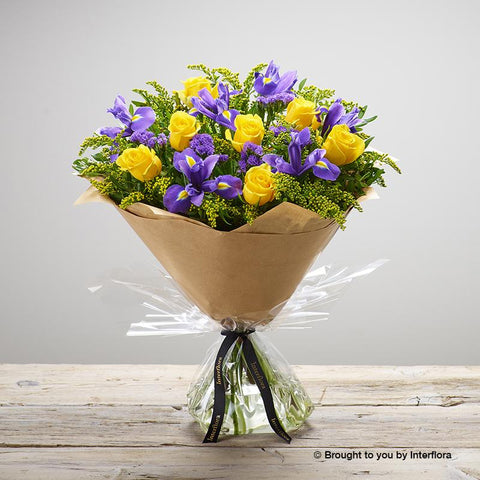 Large Golden Skies Hand-tied