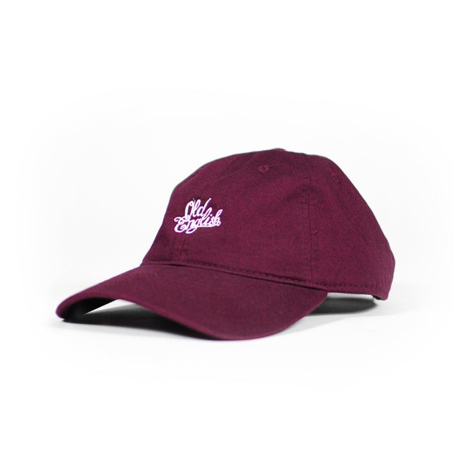 OE Burgundy Dad Hat