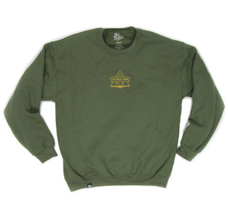 Secret Society Crewneck (Olive)