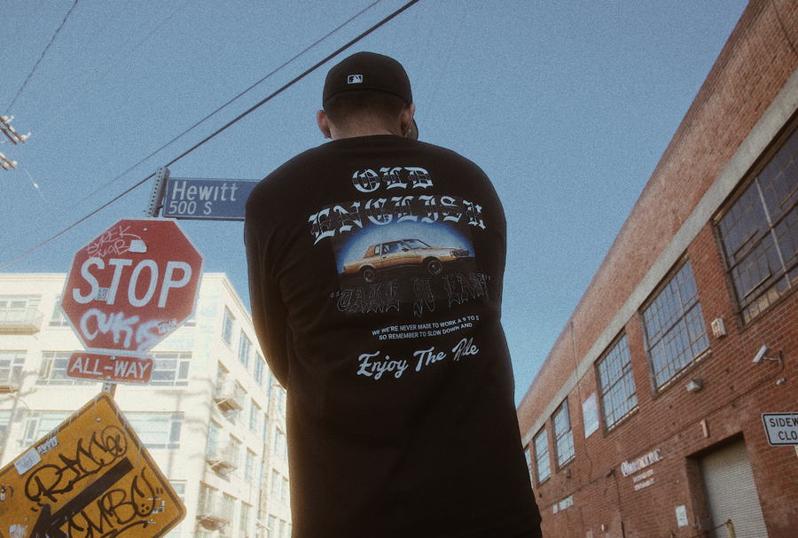 SLOW IT WAY DOWN (LONG SLEEVE)
