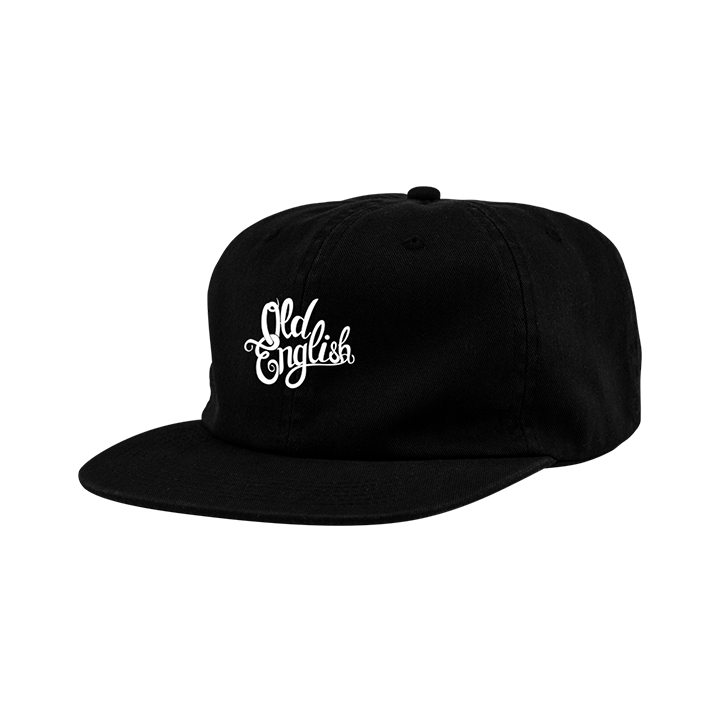 6 PANEL LOGO HAT (BLACK)
