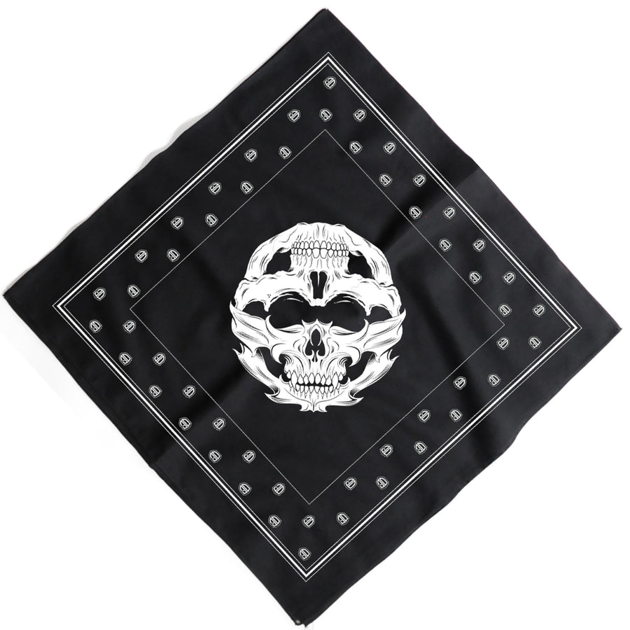 Old English Brand Faces Of Death Bandana