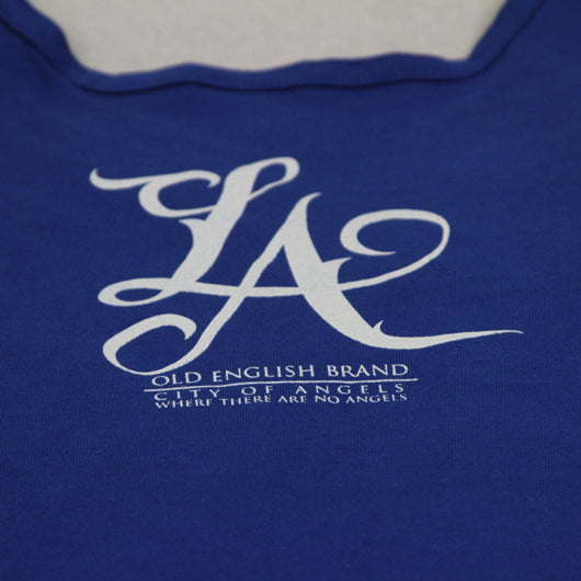 L.A Tank Top Dodger Blue