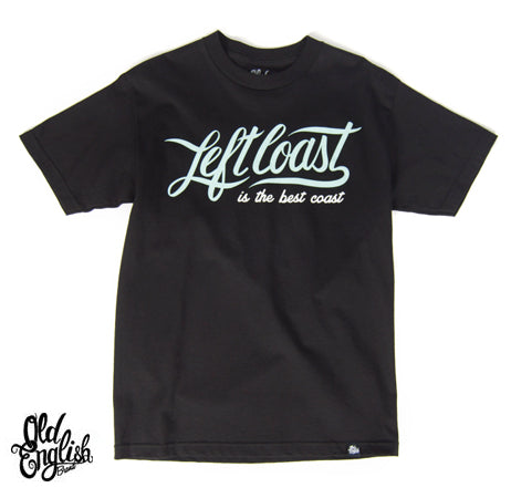 OE Left Coast Tee in Black