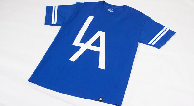 OE LA Tee In Blue
