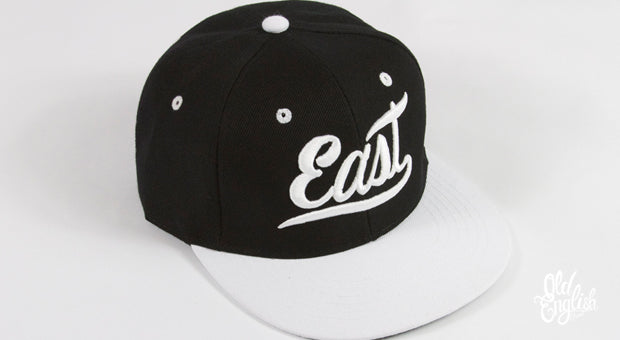 East OE All Black & White Snapback