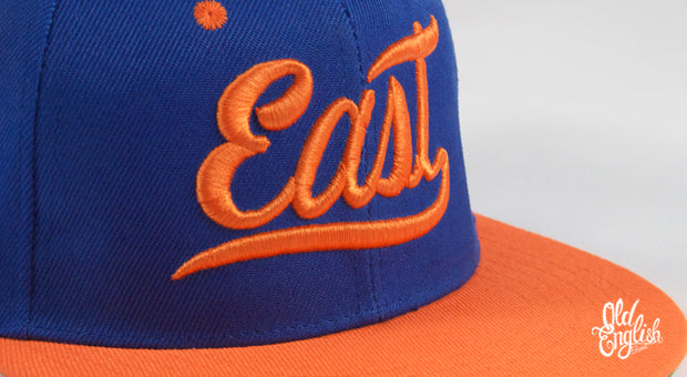 East OE Blue & Orange Snapback