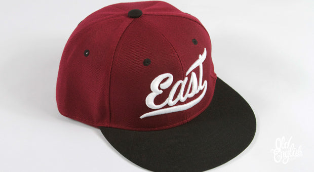 East OE Burgundy & Black Snapback