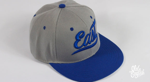 East OE Grey & Blue Snapback