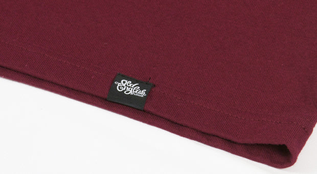 OE Cecilia Tee in Burgundy