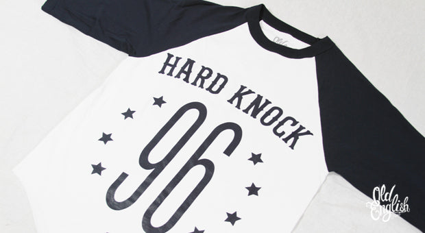 Hard Knock Baseball Tee