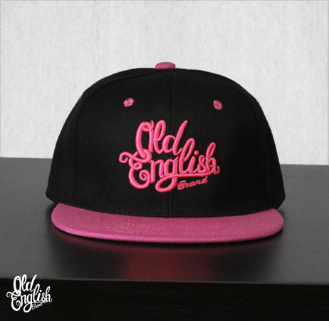 Members Only OE Black & Pink Snapback