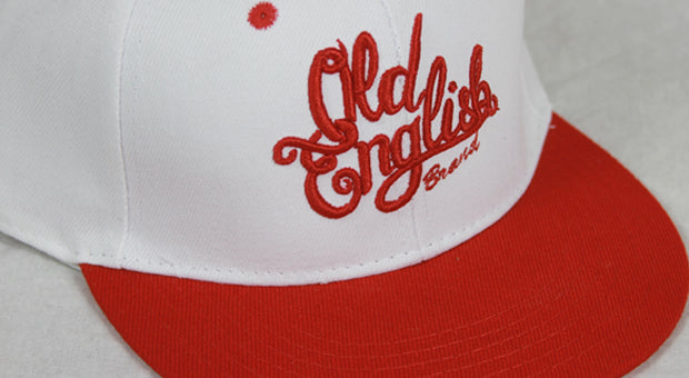 Members Only OE White & Red Snapback