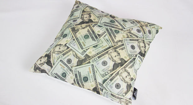 OE Money Never Sleeps Pillow